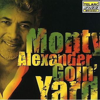 Monty Alexander - Goin ' werf [CD] USA import