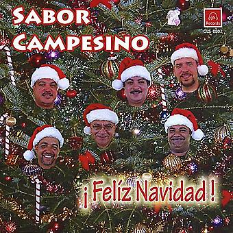 Sabor Campesino - Feliz Navidad [CD] USA import