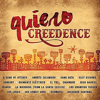 Olika Artist - Quiero Creedence [CD] USA import