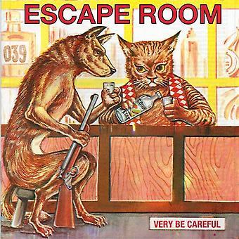 Meget være forsigtig - undslippe værelse [CD] USA import