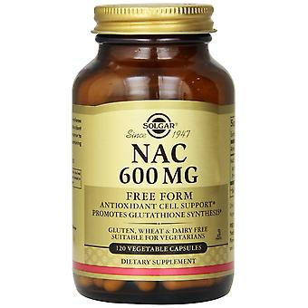 Solgar N-Acetyl-L-Cysteine (NAC) 600 mg Vegetable Capsules 120ct