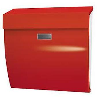 BTV Tokyo Buzon Body Vertical White Red Door (DIY , Hardware , Home hardware , Mailboxes)