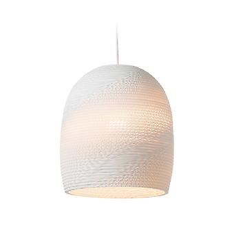 Graypants White Bell Pendant Light 10