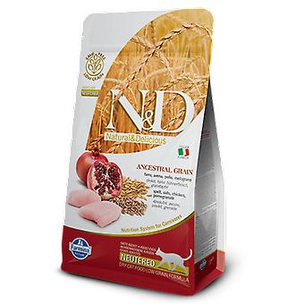 Farmina N&D Low ancestral grain neutered huhn und granatapfel