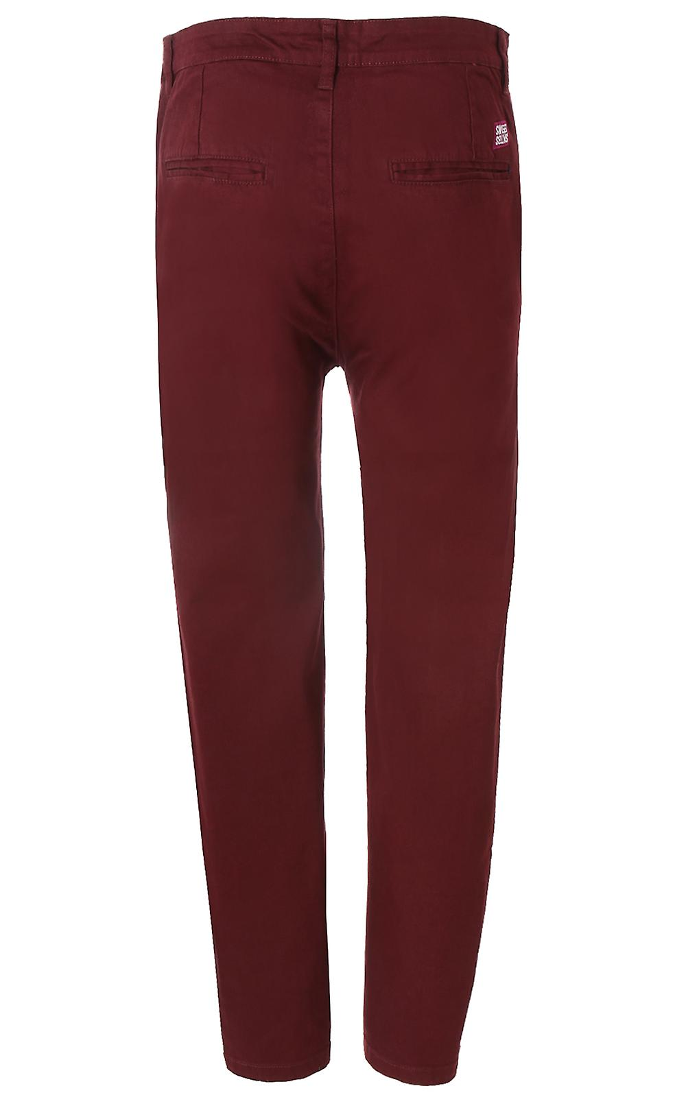 sweet sktbs chino hose herren jeans rot the chinos. Black Bedroom Furniture Sets. Home Design Ideas