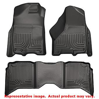 Husky Liners 99001 Black WeatherBeater Front & 2nd Seat FITS:DODGE 2009 - 2010