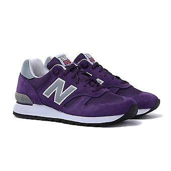 New Balance M670SPU Purple & Grey Made in England Trainers
