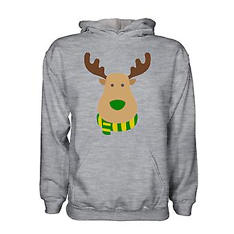 Norwich Rudolph Supporters Hoody (grey) - Kids