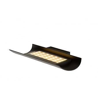 Lucide DYVOR-LED Wall Light IP54 L30 W20cm Black