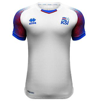 2018-2019 Island Errea borta i fotbollströja