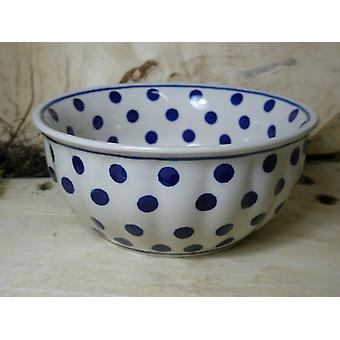 Waves edge Bowl, 2nd choice, Ø 18 cm, height 7 cm, tradition 24 - BSN 60500