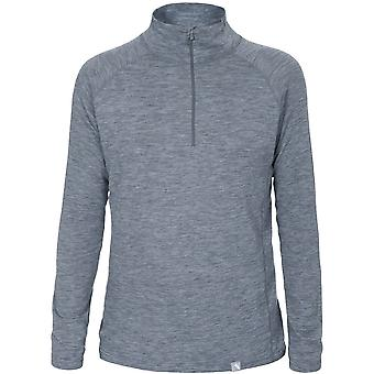 Trespass Mens Seeker Half Zip Flat Lock Thermal Baselayer Top
