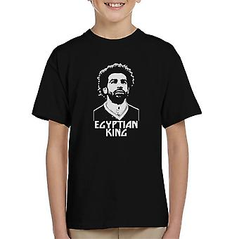 Mo Salah Egyptian King Liverpool Kid's T-Shirt