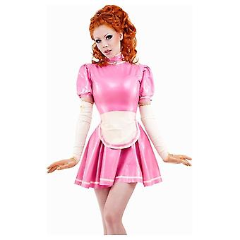 Vestover bundet Mirabell Maid Latex gummi Uniform.