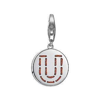 ESPRIT pendant of charms silver letter fabric U ESCH91142A000