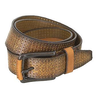 WRANGLER bälte läder kuter mäns bälten Cognac 4780