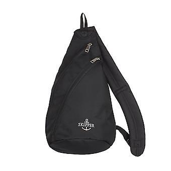 Skipper podróże akcesoria daypack ciało torba torba na ramię czarna 6910