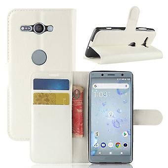 Pocket wallet premium white for Sony Xperia XZ2 Compact / Mini protection sleeve case cover pouch new