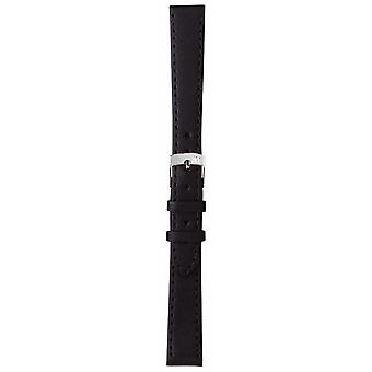 Morellato Strap Only - Sprint Napa Leather Black 16mm A01X2619875019CR16 Watch