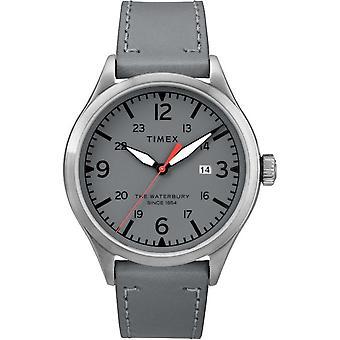 Męskie Timex zegarek Waterbury tradycyjny 40 mm Skórzany TW2R71000