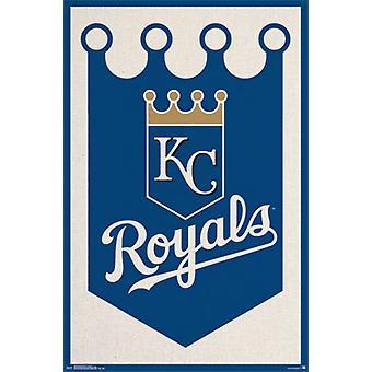 Kansas City Royals&trade - Logo 15 Poster Print
