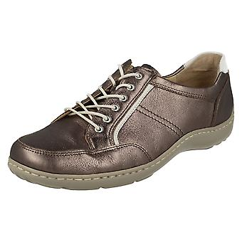 Ladies Waldlaufer Casual Lace Up Shoes 496013