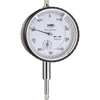 HELIOS PREISSER 0701111 Dial gauge 10 mm Reading: 0.01 mm