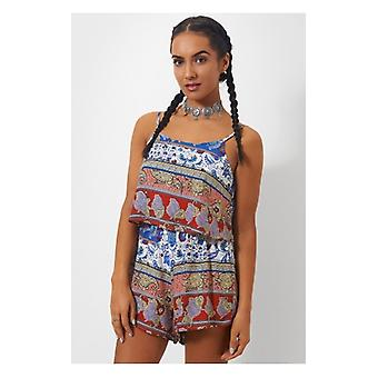 The Fashion Bible Wanderlust Bohemian Playsuit