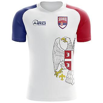 2018-2019 Serbia Flag Concept Football Shirt (Kids)