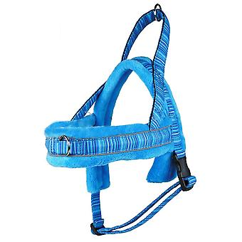S4 T-arnés paño grueso y suave acolchado azul