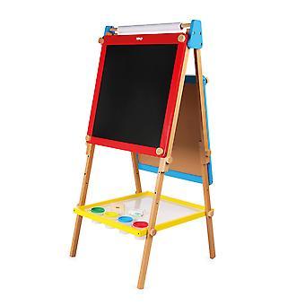 Tidlo Holz Höhe verstellbaren doppelseitigen Kunst Staffelei, Paint zeichnen Farbe