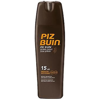 Piz Buin Ultra Light Sun Spray SPF 15 200 ml