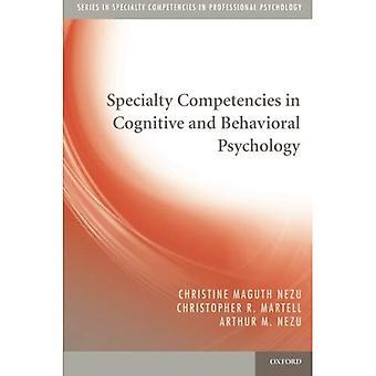 Compétences spécialisées en psychologie Cognitive et comportementale (compétences spécialisées en psychologie professionnelle)