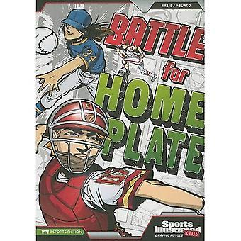 Batalla de Home Plate (deportes niños ilustrada novelas gráficas)