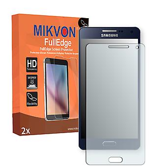 Samsung Galaxy A5 Duos (SM-A5000) screen protector - Mikvon FullEdge (screen protector with full protection and custom fit for the curved display)