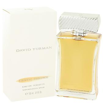 David Yurman Exotic Essence by David Yurman Eau De Toilette Spray 3.4 oz / 100 ml (Women)