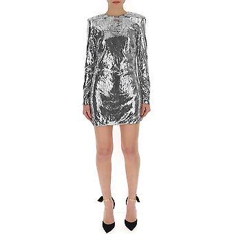 Amen Silver Polyester Dress