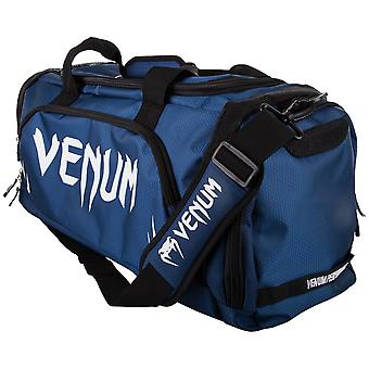 Venum Trainer Lite Sport MMA Boxing Duffle Gym Bag - Navy/White