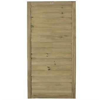 Forest Garden 6ft Horizontal Tongue and Groove Wooden Gate