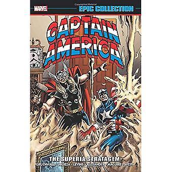Kapitan Ameryka niezwykłą kolekcję: Fortel Superia
