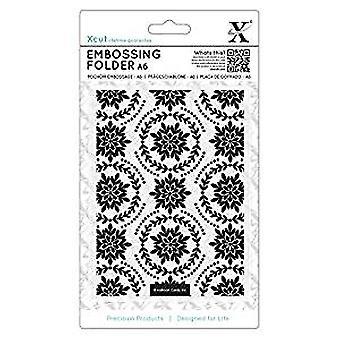 Xcut A6 Embossing Folder Ornate Foliage (XCU 515920)