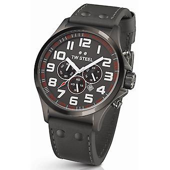 TW stal Pilot Chronograph zegarek Tw423 48 Mm