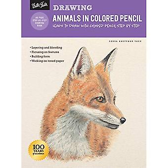Drawing: Animals in Colored� Pencil: Learn to draw with colored pencil step by step (How to Draw & Paint)
