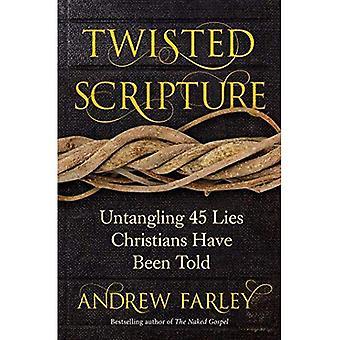Twisted skriften: Untangling 45 lögner kristna har fått veta