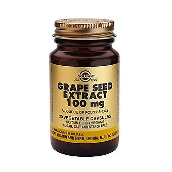 Solgar Grape Seed Extract 100 mg vegetabilske kapsler, 30