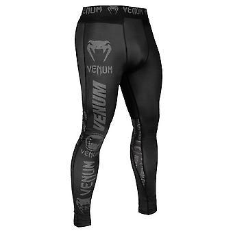 Venum Logos spats Black