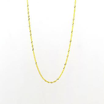 Eternity 9ct Gold 18 ' ' Singapore Chain