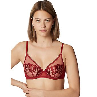 Maison Lejaby 19133 Women's Sin Lace Non-Padded Underwired Full Cup Bra