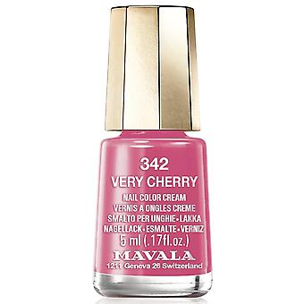 Mavala Bubble Gum 2018 Nail Polish Collection - Very Cherry (342) 5ml