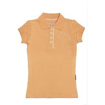 Horseware meisjes Pique Polo shirt-Sunburst